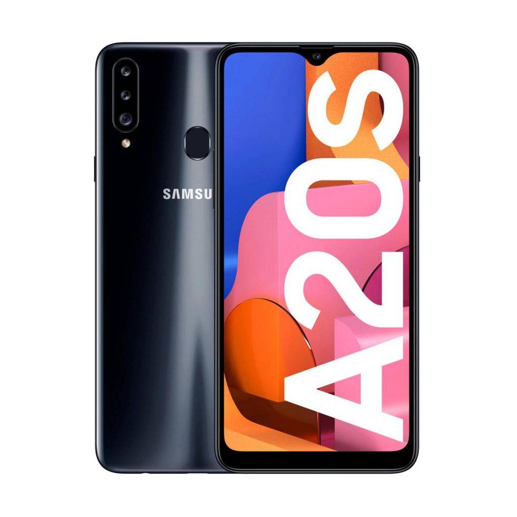 Samsung Galaxy A20s Negro 3 GB+32 GB móvil libre 8806090681110