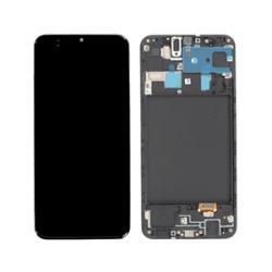 Pantalla Samsung Galaxy SM-A205/M107 (A20/M10s19) negro LCD con marco original service pack