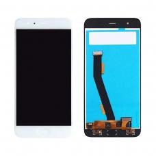 Pantalla completa con flex de home para Xiaomi Mi 6 blanca