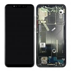 Pantalla completa con marco para Xiaomi Mi 8 negra