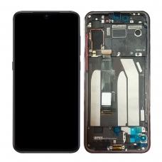Pantalla completa con marco para Xiaomi Mi 9 SE negra