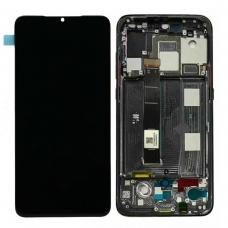 Pantalla completa con marco para Xiaomi Mi 9 negra original
