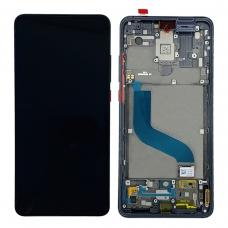 Pantalla completa con marco para Xiaomi Mi 9T/Mi 9T Pro/Redmi K20 negra original