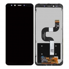 Pantalla completa con marco para Xiaomi Mi A2/Mi 6X negra original