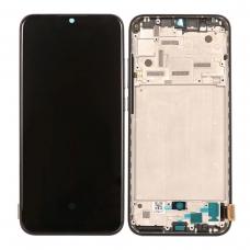 Pantalla completa con marco para Xiaomi Mi A3/Mi CC9e negra original nueva