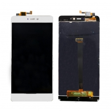 Pantalla completa para Xiaomi Mi 4s blanca cobophone