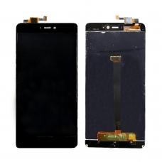 Pantalla completa para Xiaomi Mi 4s negra cobophone
