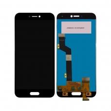 Pantalla completa para Xiaomi Mi 5c negra cobophone