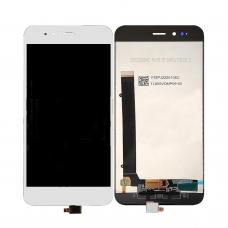 Pantalla completa para Xiaomi Mi A1/Mi 5X blanca