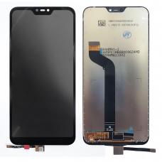 Pantalla completa para Xiaomi Mi A2 Lite M1805D1SG/Redmi 6 Pro negra compatible A