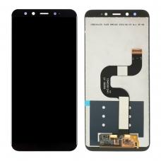 Pantalla completa para Xiaomi Mi A2/Mi 6X negra compatible A
