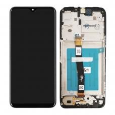 Pantalla completa con marco para Samsung Galaxy A22 5G A226 negra original