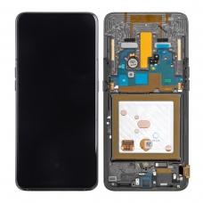 Pantalla completa con marco para Samsung Galaxy A80 A805 negra original