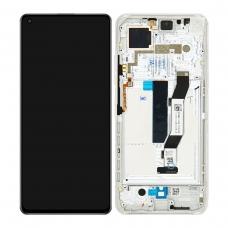 Pantalla completa con marco para Xiaomi Mi 10T 5G plata original nueva