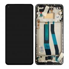 Pantalla completa con marco para Xiaomi Mi 11 Lite 5G negra original nueva