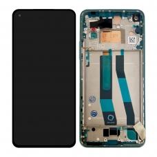 Pantalla completa con marco para Xiaomi Mi 11 Lite 5G verde original nueva