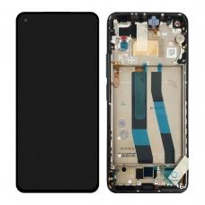 Pantalla completa con marco para Xiaomi Mi 11 Lite negra original nueva