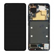 Pantalla completa con marco para Xiaomi Mi 11 negra original nueva