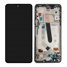 Pantalla completa con marco para Xiaomi Mi 11i negra original nueva