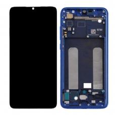 Pantalla completa con marco para Xiaomi Mi 9 Lite azul