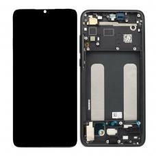 Pantalla completa con marco para Xiaomi Mi 9 Lite negra