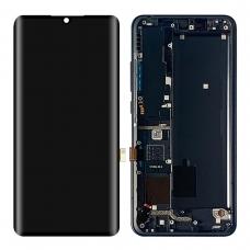 Pantalla completa con marco para Xiaomi Mi Note 10 negra original nueva