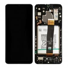 Pantalla completa con marco y batería para Samsung Galaxy A32 5G A326 negra original Versión CDOT