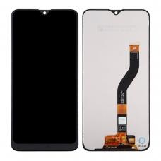 Pantalla completa para Samsung A10S A107F negra compatible