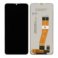Pantalla completa para Samsung Galaxy A03s A037 negra original