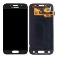 Pantalla completa para Samsung Galaxy A3 2017 A320 negra original