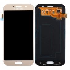 Pantalla completa para Samsung Galaxy A5 2017 A520 dorada original