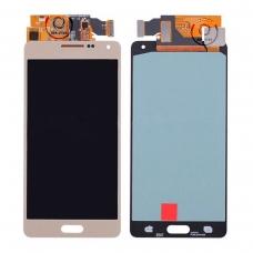 Pantalla completa para Samsung Galaxy A5 A500 dorada original