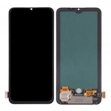 Pantalla completa para Xiaomi Mi 10 Lite 5G negra original