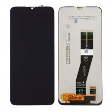 Pantalla completa sin marco para Samsung Galaxy A02S 2020 A025G negra original